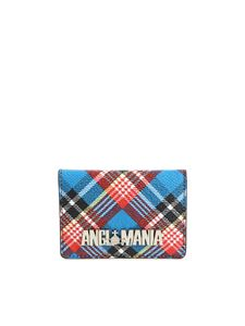 "Vivienne Westwood Anglomania - ""Shuka"" card holders with tartan print"