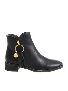 """See by Chloé - Black """"Louise"""" ankle boots"""