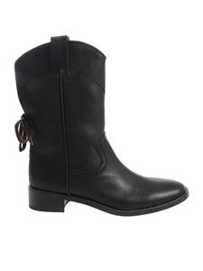 "See by Chloé - ""Annika"" black ankle boots"