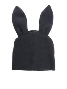 Comme Des Garçons Shirt Boys - Black beanie with rabbit ears