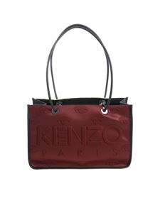 Kenzo - Burgundy bag with 3D details
