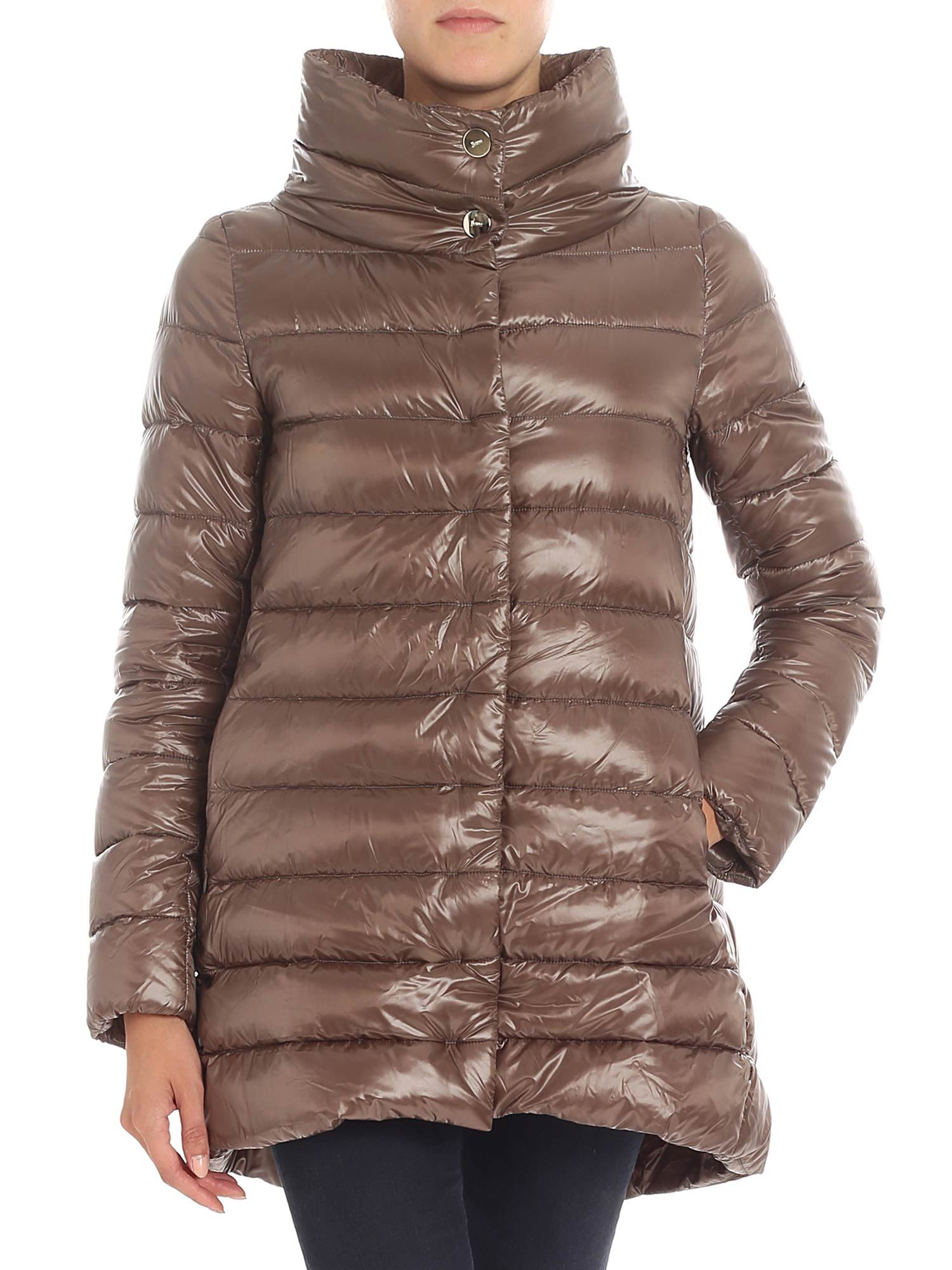 "Herno BROWN ""ICONIC AMELIA"" DOWN JACKET"