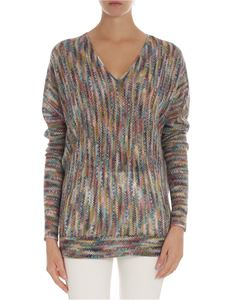 Missoni - Multicolor pierced sweater