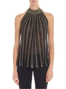 Missoni - Lamé fabric top