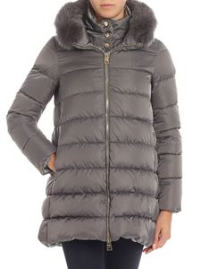 Herno - Grey Polar Tech down jacket