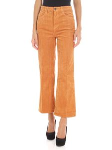 "J Brand - ""Joan Crop"" orange jeans"