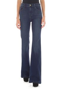 "J Brand - ""Maria Flare"" blue jeans"