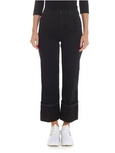 "J Brand - ""Joan Crop"" black jeans"