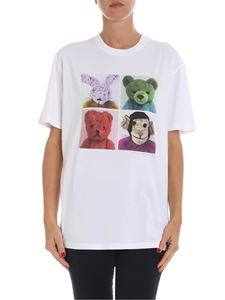 Stella McCartney - White t-shirt with multicolor print