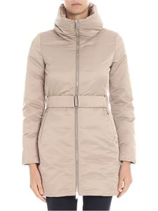 ADD - Champagne-color down jacket
