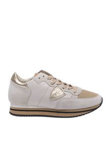 "Philippe Model - Sneaker ""Tropez Higher"" beige"