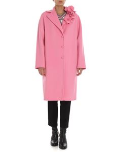 Ermanno Scervino - Pink coat with ruffles