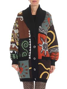 Etro - Multicolor cardigan with puffed sleeves