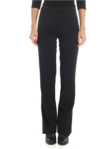 Etro - Black trousers with multicolor stripes