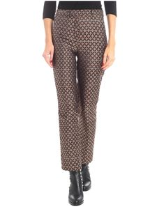 Etro - Embroidered bronze trousers