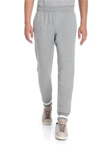 Ermenegildo Zegna - Gray sweat pants with knitted edges