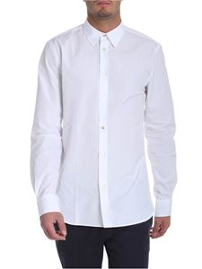 Paul Smith - White shirt with golden button