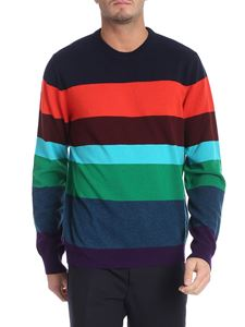 Paul Smith - Multicolor striped cashmere sweater