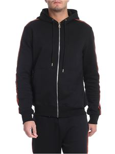 Paul Smith - Black sweatshirt with multicolor bands
