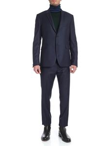 Paul Smith - Blue and black houndstooth suit