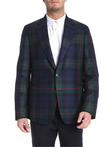 Paul Smith - Two-button scottish fabric jacket