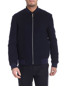 Paul Smith - Blue wool jacket
