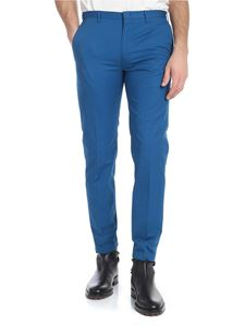 Paul Smith - Turquoise trousers with slash pockets