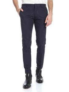 Paul Smith - Blue trousers with slash pockets