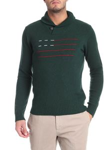 Woolrich - Green embroidered pullover