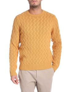 Brooks Brothers - Yellow pullover with embossed pattern
