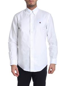 Brooks Brothers - White oxford cotton button down shirt