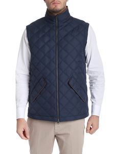 Brooks Brothers - Gilet blu imbottito in Thermore