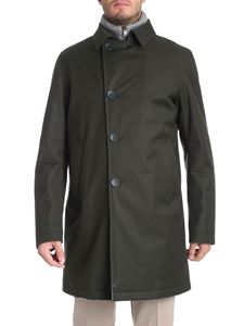 Herno - Green fabric coat