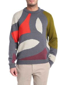 Missoni - Mohair blend pullover with inlay