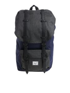 "Herschel Supply Co. - Zaino ""Lil Amer"" blu e nero"