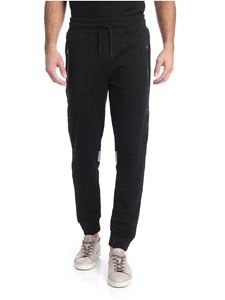 Hydrogen - Black trousers with reflective prints