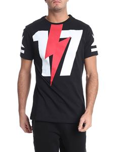 Hydrogen - Black and white printed t-shirt