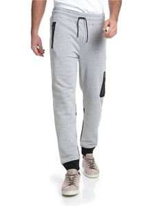 Hydrogen - Gray trousers with reflective prints