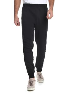 Hydrogen - Black trousers with side skulls detail