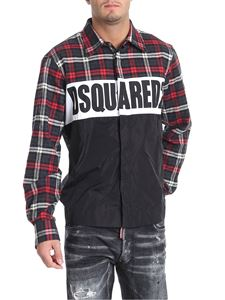 Dsquared2 - Black and red check shirt