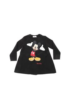 "Monnalisa - ""Mickey Mouse"" black t-shirt"