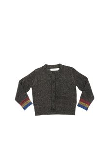 "Stella McCartney Kids - Cardigan ""Lauren"" lamè"