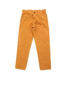 "Stella McCartney Kids - Orange ""Fitz"" trousers"