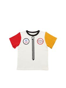 Stella McCartney Kids - White front patches T-shirt
