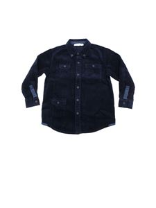 Stella McCartney Kids - Blue shirt in corduroy