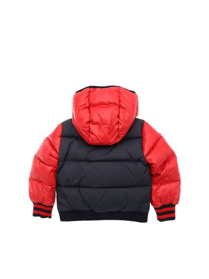 bb43f05fa Moncler Jr Fall Winter 18 19 blue and red