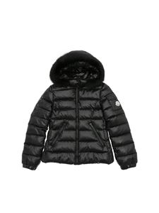 "Moncler Jr - Black ""Bady Fur"" down jacket"