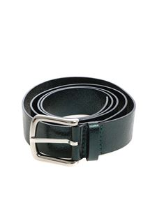 Orciani - Green metallic leather belt