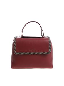 "Orciani - Burgundy ""Sveva Chain"" medium shoulder bag"