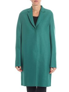 "Harris Wharf London - Green ""Cocoon"" coat"